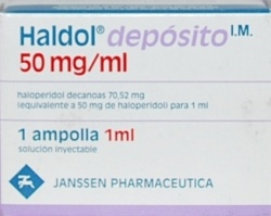 haloperidol decanoate conversion